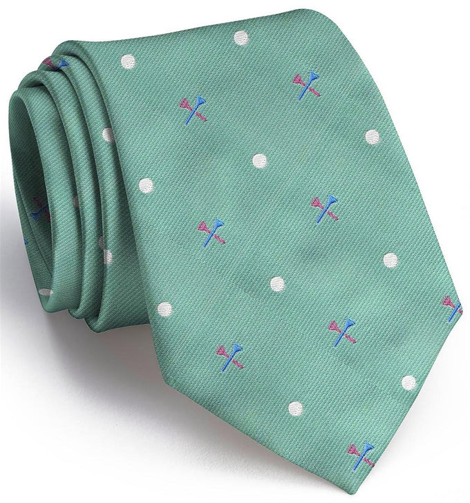 Tee Time Club Tie Mint
