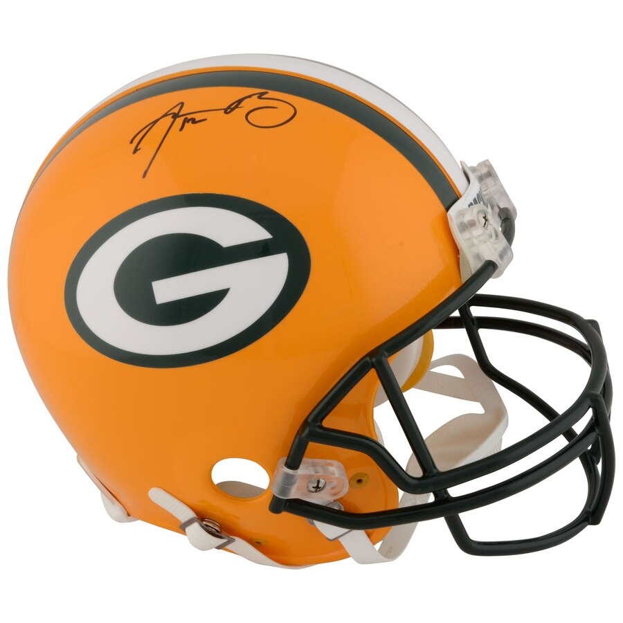 Aaron Rodgers Signed Packers Replica Helmet