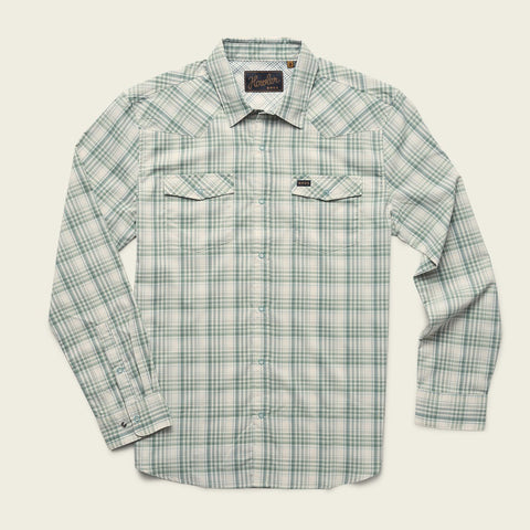 H Bar Bolan Plaid Juniper Green Shirt