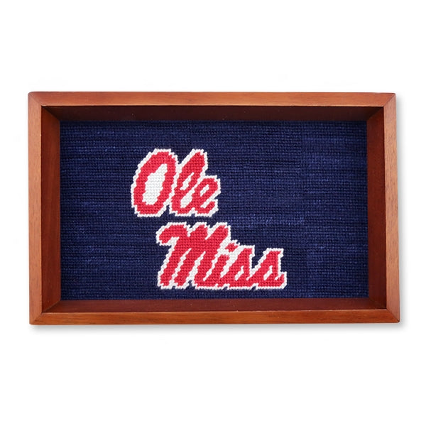 Collegiate Valet Tray Ole Miss
