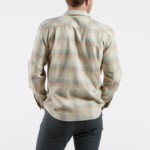 Harkers Flannel Ronan Plaid Cream