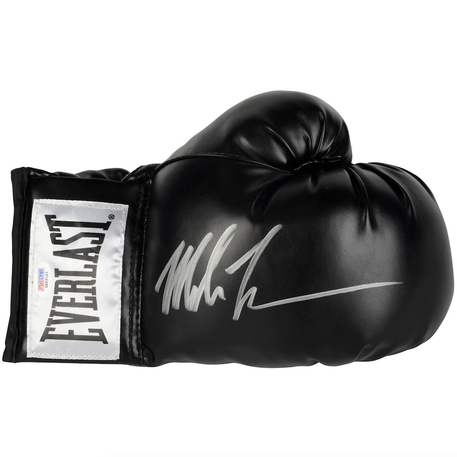 Mike Tyson Signed Everlast Boxing Glove