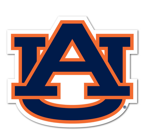 "Auburn Logo 3"" Collegiate Decal"