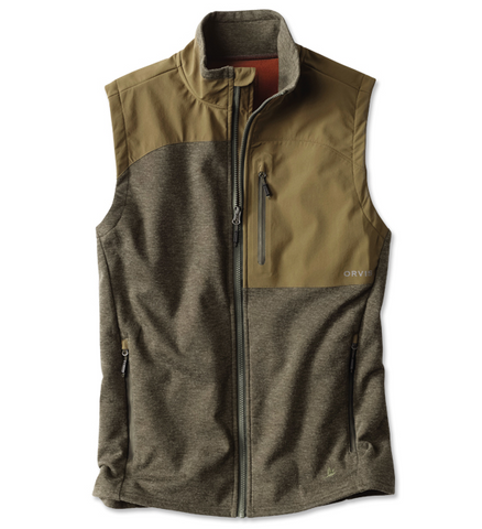 Hybrid Wool Fleece Vest