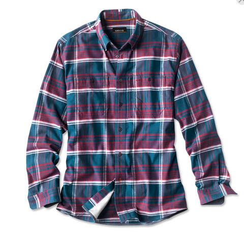 Flat Creek Flannel Desert Blue