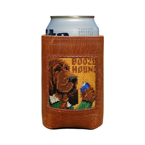 Needlepoint Coozie Booze Hound