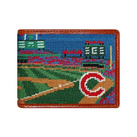 Chicago Cubs Wrigley Field Scene Wallet