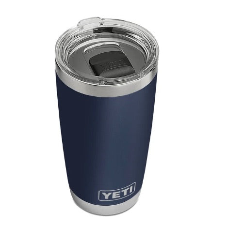 Rambler 20 OZ Tumbler with Magslide Lid Navy