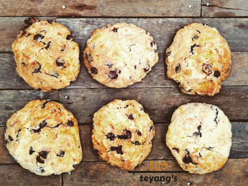 Choco cheese cookies (6pcs)