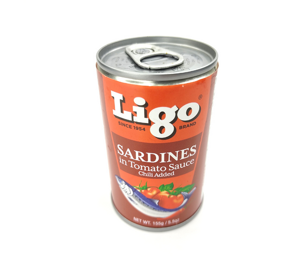 Ligo Sardines in Tomato Sauce Chili Added