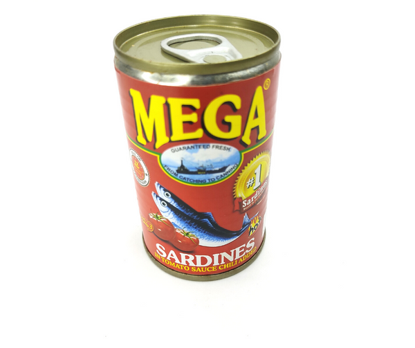 Mega Sardines in Tomato Sauce Chili Added