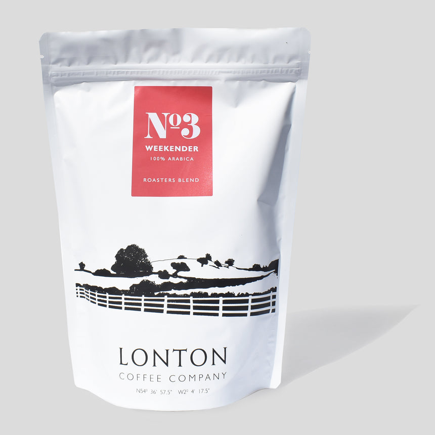 No.3 Weekender - Roasters Blend  (250gm)