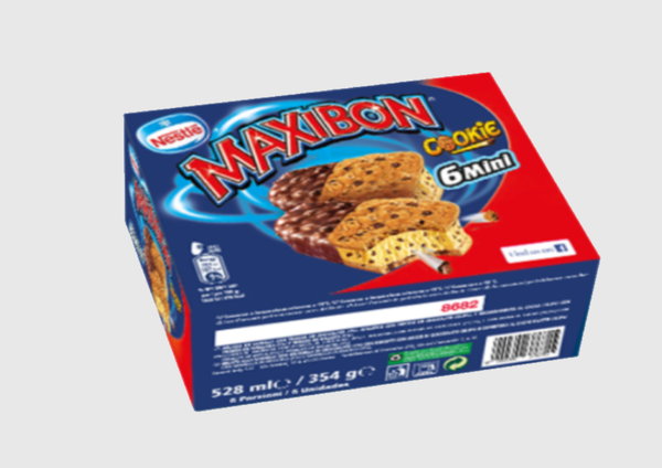 Maxibon®Mini Cookie - 6 x 59 gr.
