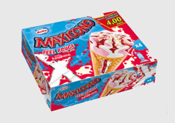 Maxicono Feel Rouge Multipack - 4 x 81 gr.