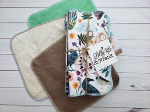 Printed Cloth Wipes