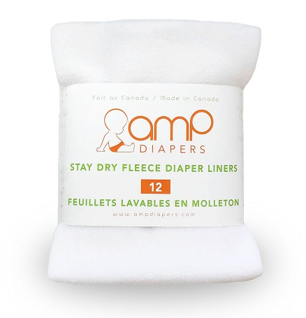 Amp Stay Fleece Diaper Liners