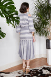 Striped Heather Skirt