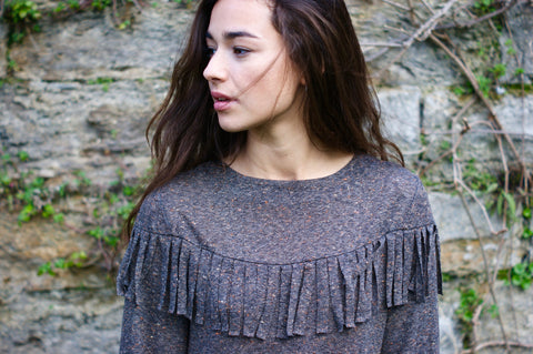 The Mazarine Top