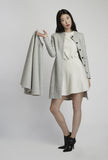 Wool Coat With Detachable Cape
