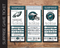 Printable Philadelphia Eagles Professional Football Game Gift Reveal - Kaci Bella Designs