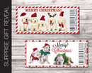 Printable Christmas Puppy/Dog Gift Reveal - Kaci Bella Designs