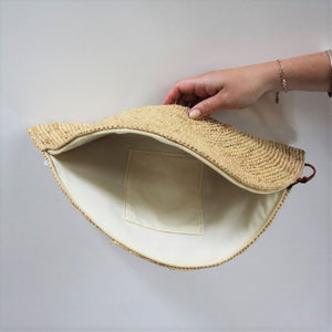 Half Moon Clutch Bag