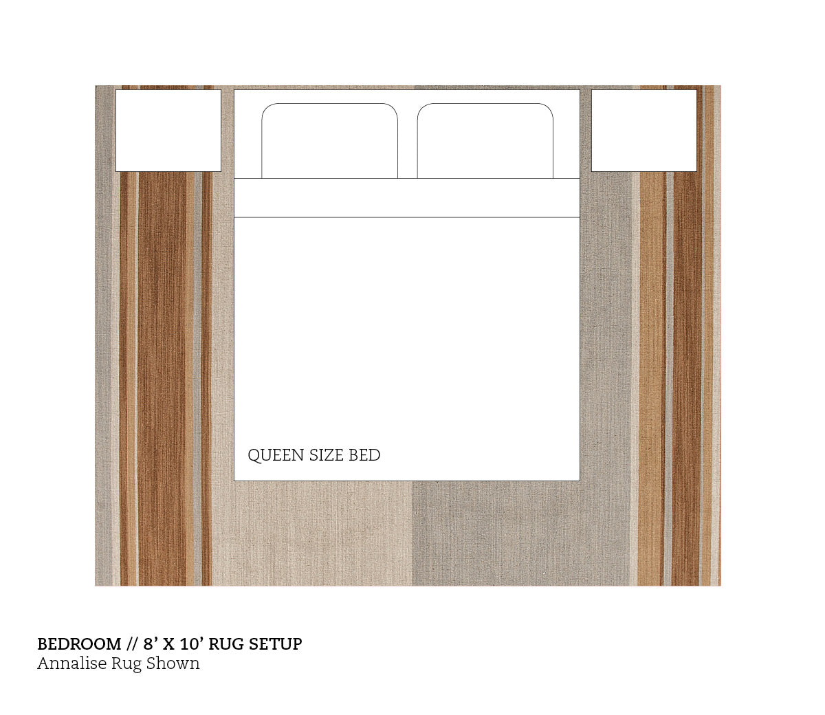 Size Matters Our Rug Size Guide Burkelman