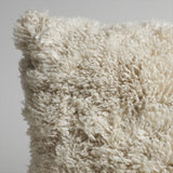 Curly Lambswool Pillow - Natural