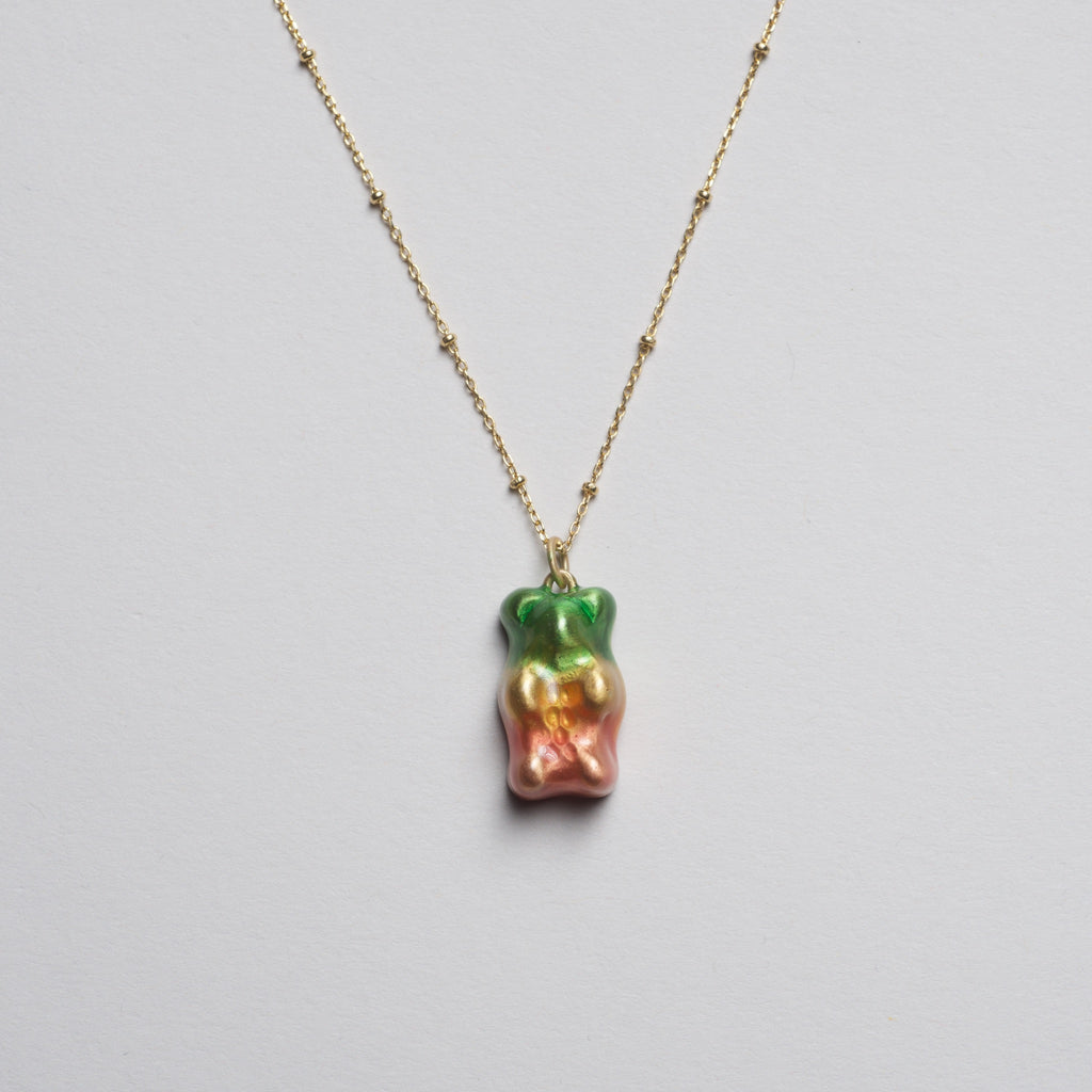 Gummy Bear Necklace - Watermelon