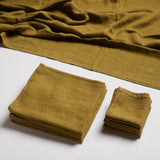 Linen Spa Towel - Bronze