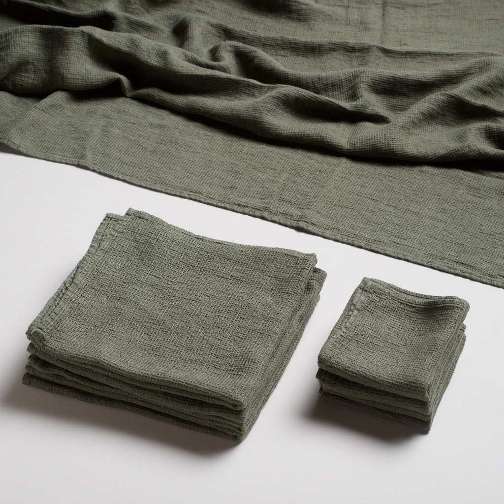 Linen Spa Towel - Sage
