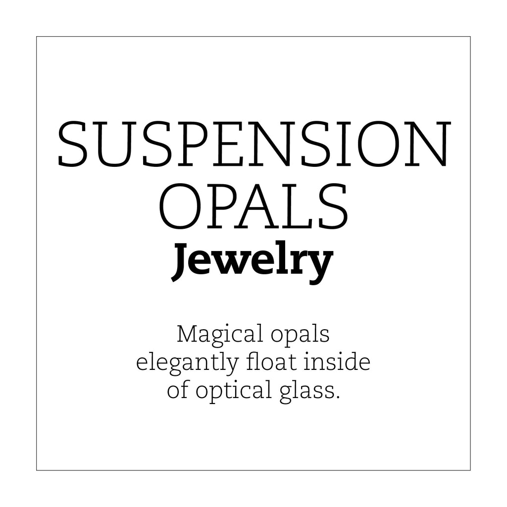 Suspension Opal Jewelry Throw