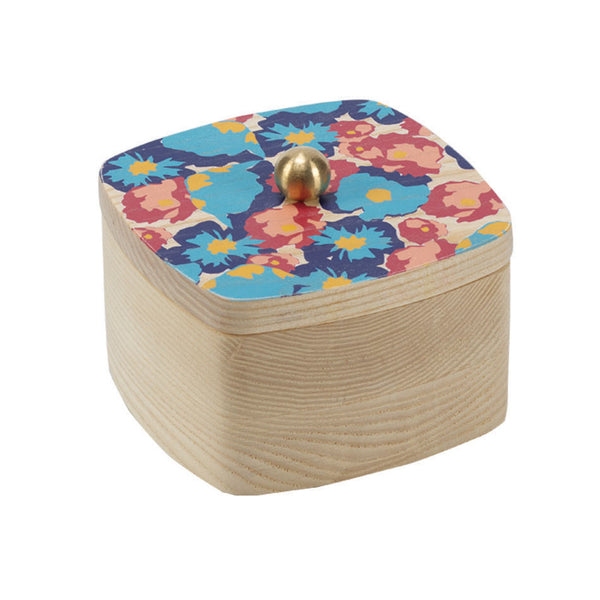 poppy navy solid ash accent box