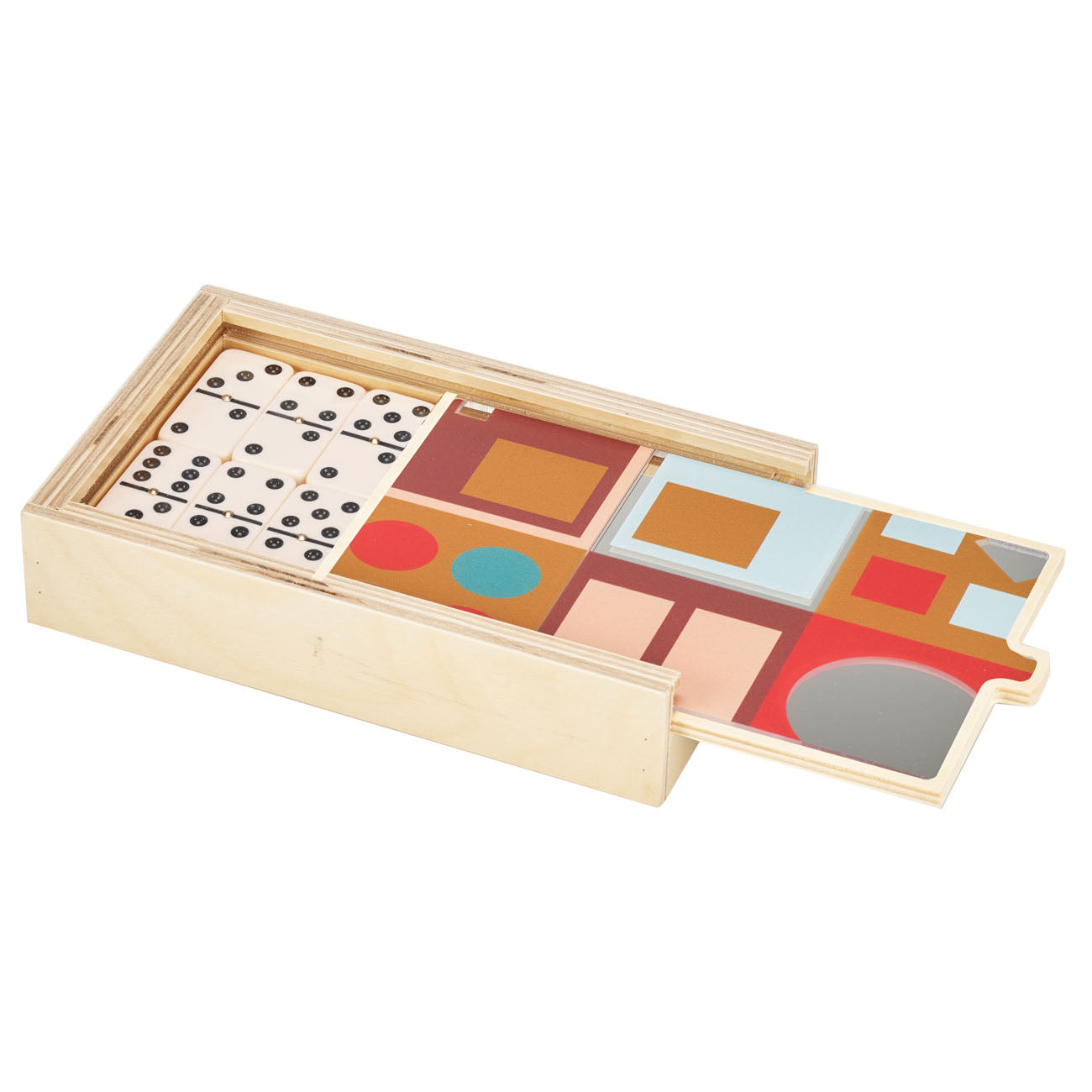 alexander peach MIRROR domino set- BRAND NEW!