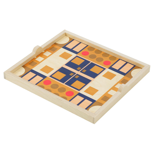 alexander olive square tray