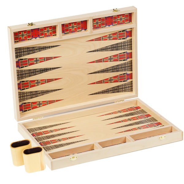 alexander tabletop backgammon set- NEW for Fall/Holiday 2018!