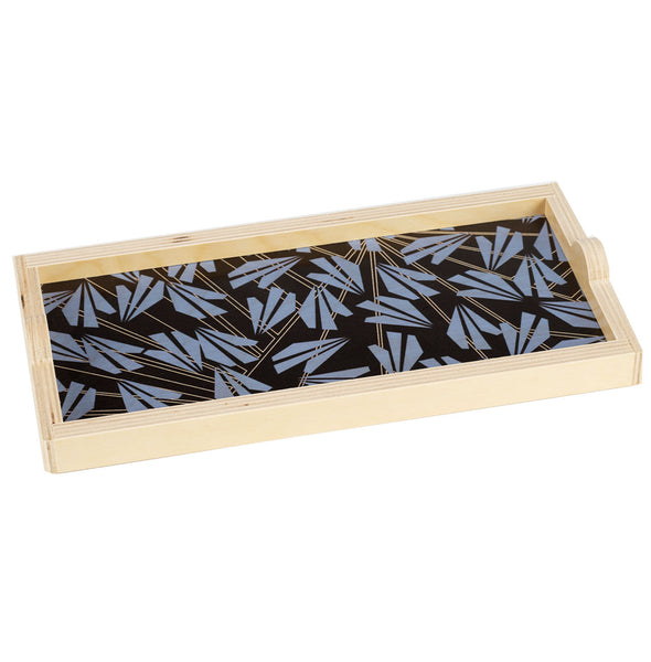 amelia black mini tray