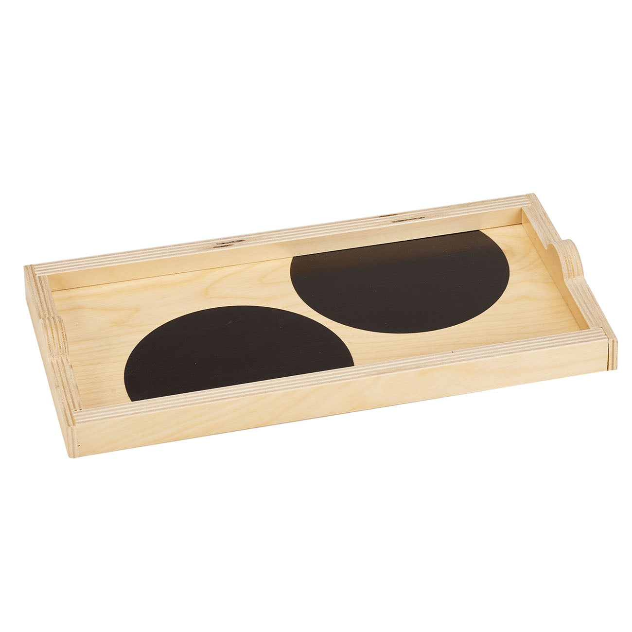 black dot mini tray
