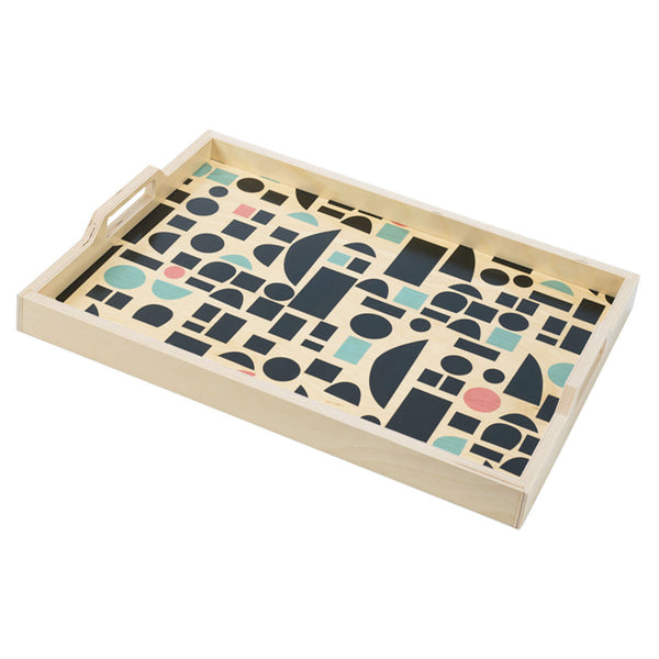 blocks multi serving tray