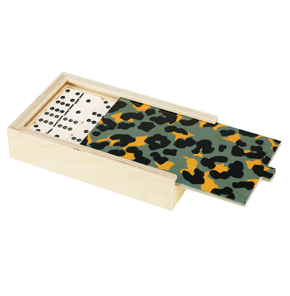 cheetah domino set