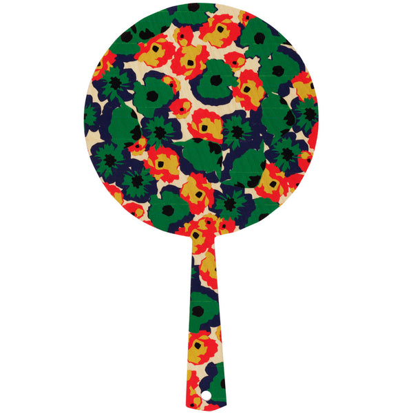 poppy green hand mirror
