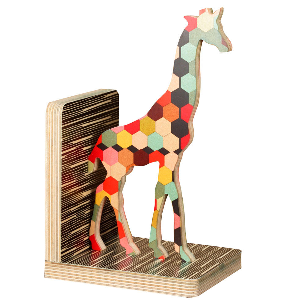honeycomb giraffe bookend- SOLD OUT