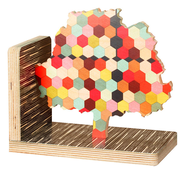 honeycomb tree bookend- SOLD OUT
