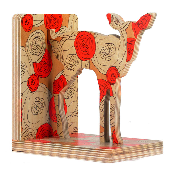 maria rose deer bookend- SOLD OUT