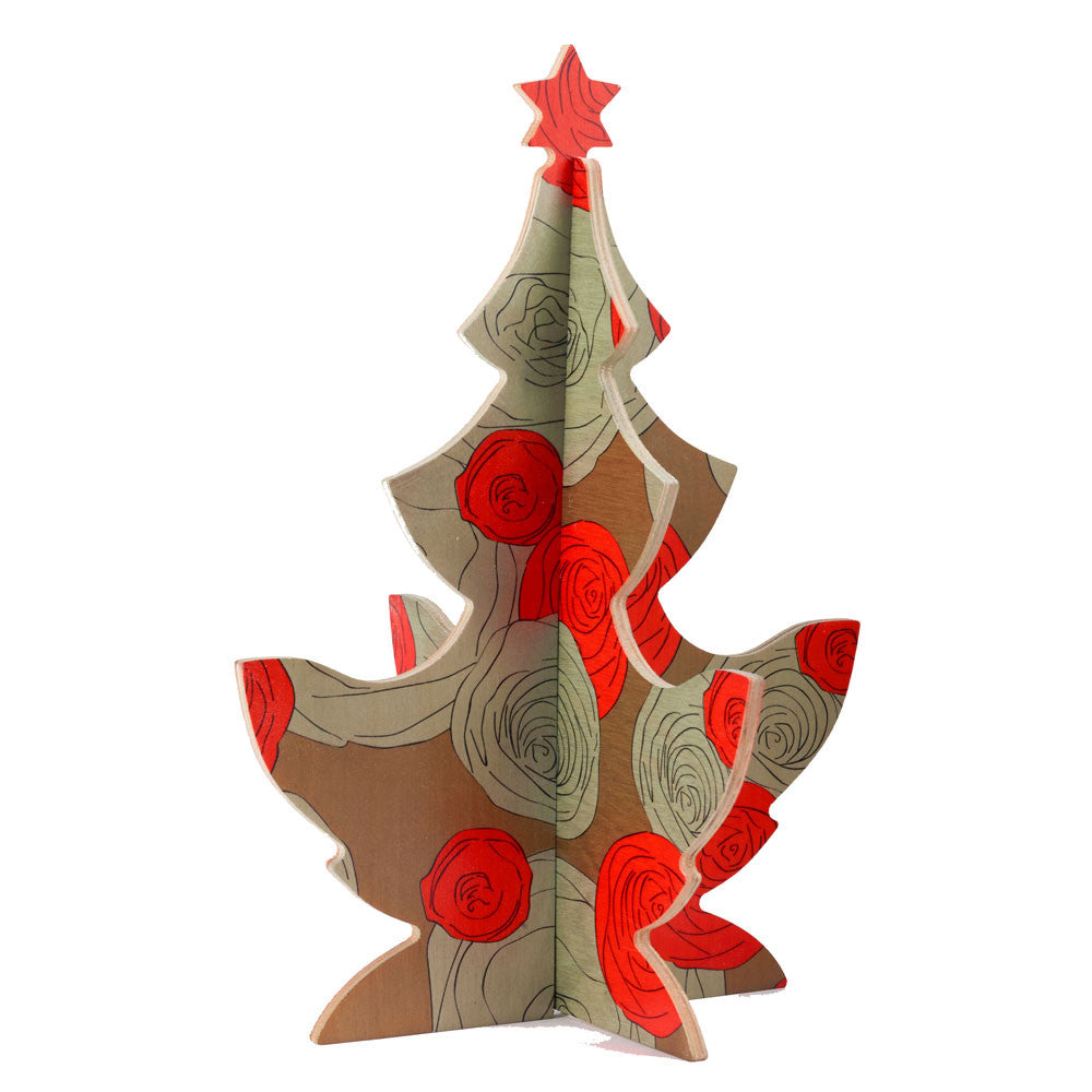 maria rose christmas tree table topper