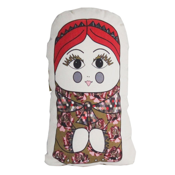 lucinda plush pillow doll - large