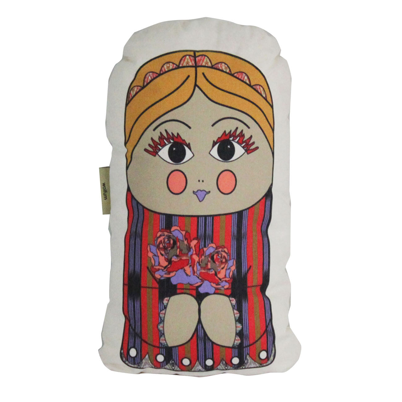 sasha plush pillow doll - small