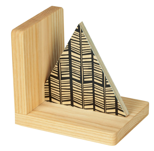 rampli triangle bookend
