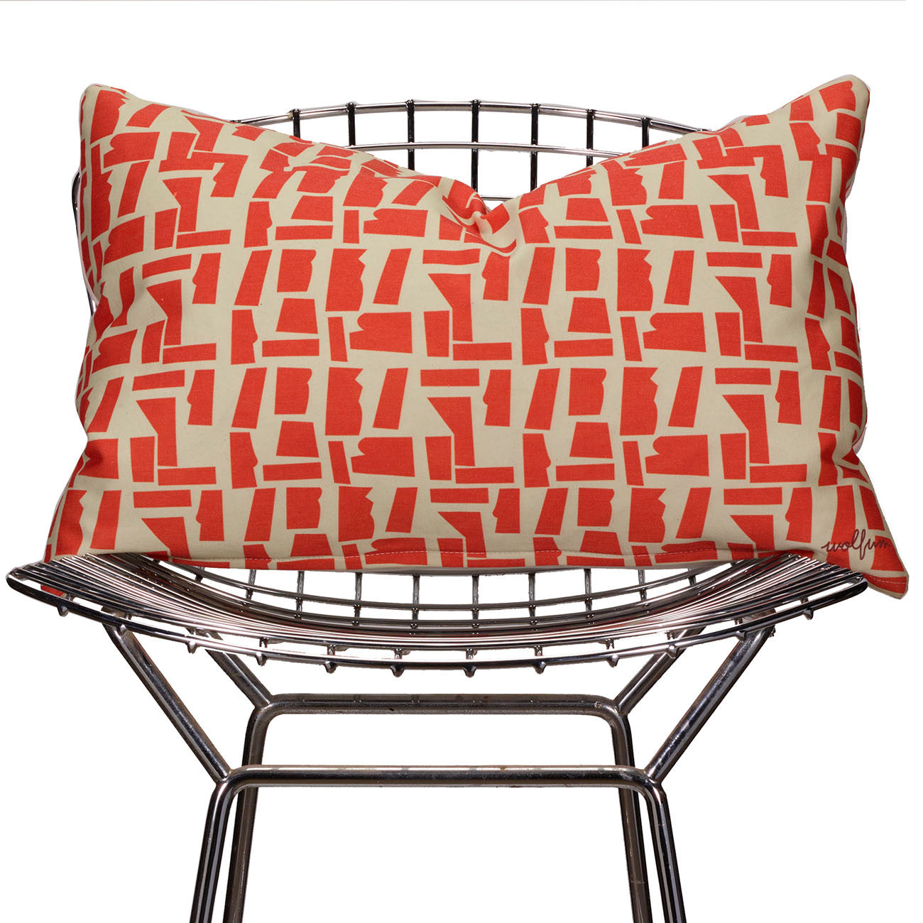 rana orange pillow