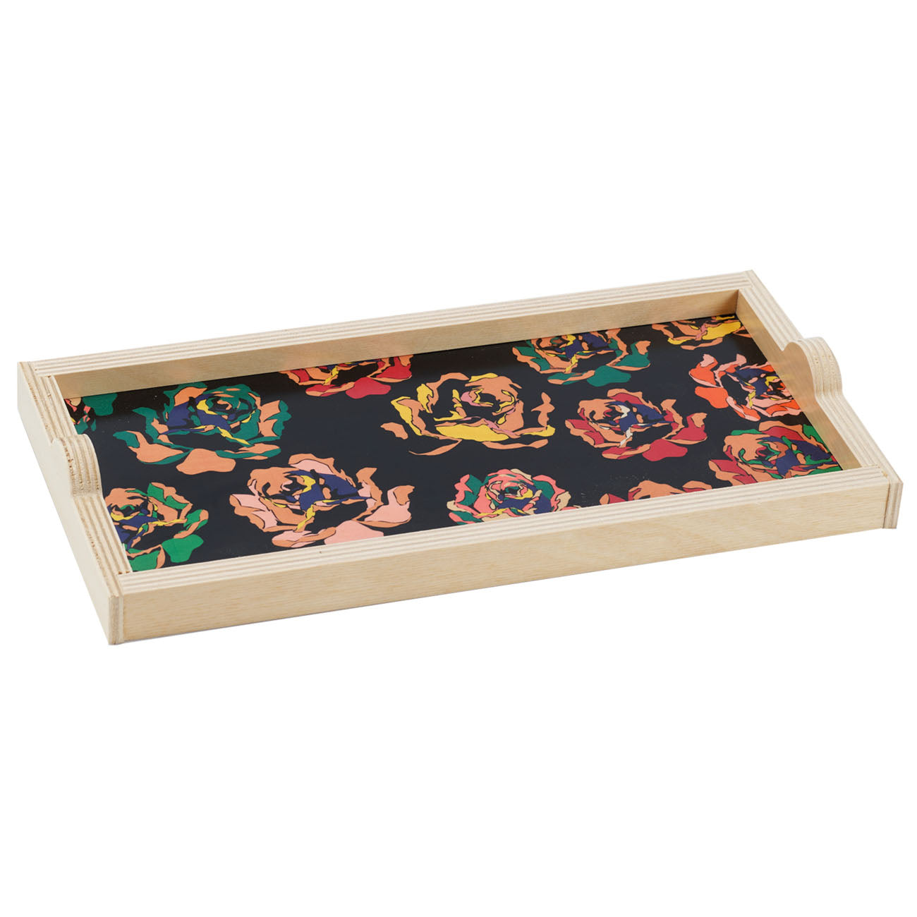 bright rose mini tray